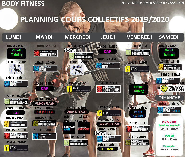 planning-2019-2020-Body-Fitness-Auray-